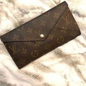 Louis Vuitton Monogram Origami Long Wallet